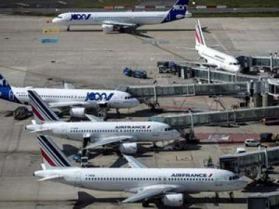 Stockage d'avions, vols vers