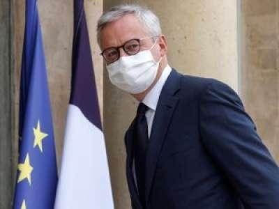 Couvre-feu : les nouvelles mesures coûtent 2 milliards d'euros, selon Bruno Le Maire