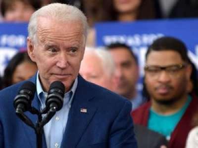 Aux États-Unis, le président élu Joe Biden, victime d'une entorse du pied en jouant avec son chien
