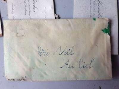 Une émouvante lettre au Père Noël des années 1930 retrouvée par hasard à Strasbourg