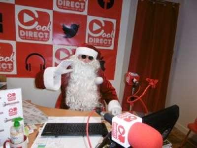 Sérignac-sur-Garonne : le Père Noël au micro de