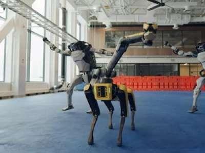 L'incroyable vidéo des robots de Boston Dynamics qui dansent le rock pour la nouvelle année