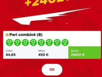 Lot : elle gagne plus de 24 000 euros sur le site de paris Betclic qui refuse de la payer