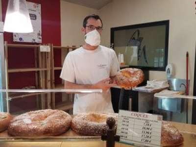 Moissac : un boulanger met des fèves en l'honneur de commerçants dans ses galettes