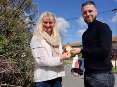 VIDÉO. Tarn: la médaille olympique volée de Sandra Forgues retrouvée sur le terre-plein de l'autoroute A68
