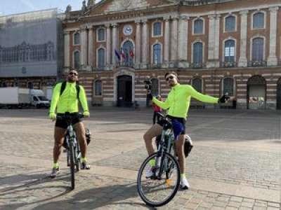 Djilsi, youtubeur toulousain, raconte sa traversée de la France à vélo