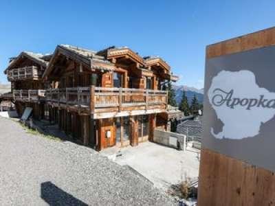 Un chalet de luxe abandonné à Courchevel vendu 24 millions d'euros