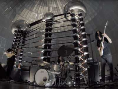VIDEO. Toulouse : découvrez le clip hallucinant du groupe de rock psyché Slift tourné dans la Boule du Cemes