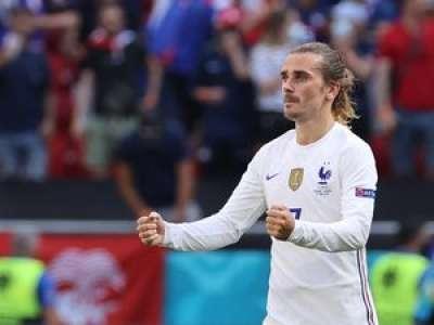 Euro de foot : pour qui Antoine Griezmann a dansé après avoir marqué contre la Hongrie