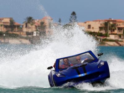 Égypte : il invente des voitures qui roulent sur l'eau