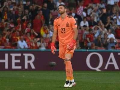 VIDEO. Euro de foot : le but lunaire encaissé par l'Espagne lors du 8e de finale contre la Croatie