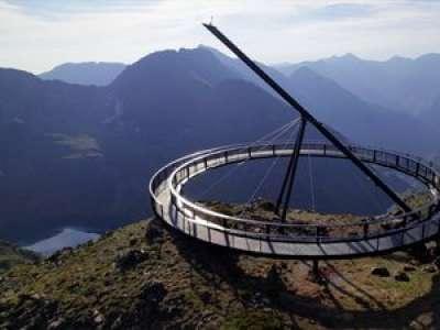 VIDEO. En Andorre, un gigantesque mirador construit à 2 700 mètres d'altitude