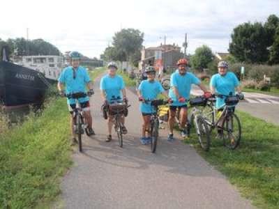 Grisolles : atteint de diplégie spastique, il va rejoindre Bordeaux à vélo