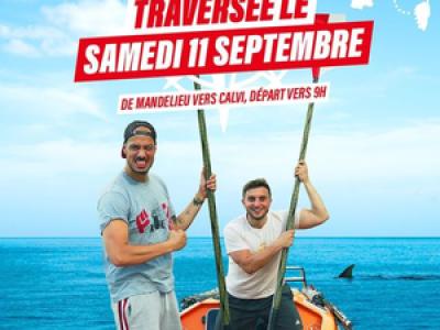 Les youtubeurs McFly et Carlito ont traversé la Méditerranée en barque