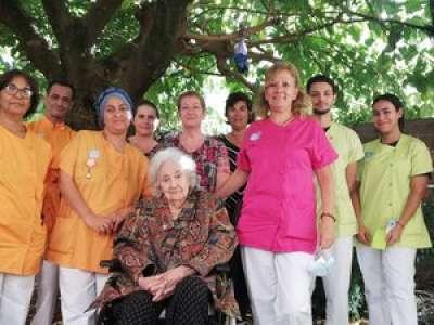 Montolieu. A 95 ans, Cérès Franco organise une expo dans son Ehpad