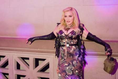 Madonnafête l'amour avec Ahlamalik Williams, danseur de 25ans[PHOTOS]