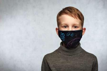 Masque pour enfant: Playmobil, en tissu Afnor, Disney, à quel âge?