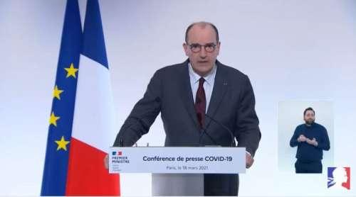 Jean Castex annonce un confinement d'au moins 4 semaines pour 16 départements