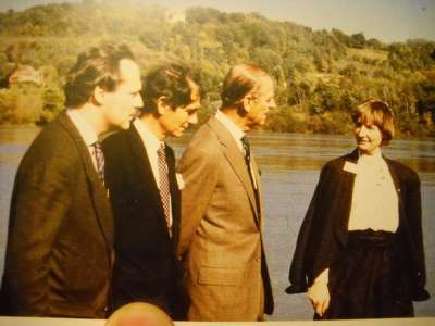 Insolite            Quand le prince Philip était en visite au Bec d'Allier pour soutenir la cause écologiste