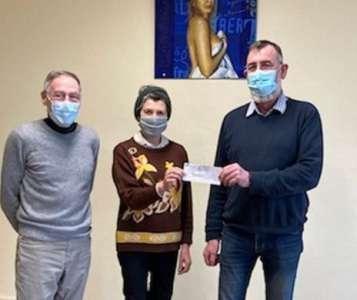 Patrimoine            Un don de 4.000euros pour la restauration de l'église de Jars