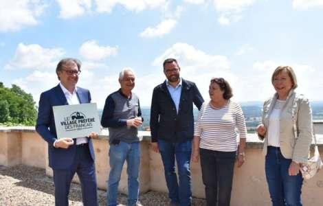 Insolite            Question autour de la plaque de « Sancerre Village préféré des Français 2021 »