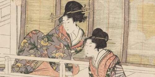 Hokusai, Hiroshige, Utamaro: les estampes japonaises exposées à Aix-en-Provence