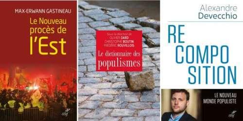 Aux éditions du Cerf, quatre livres en défense du populisme