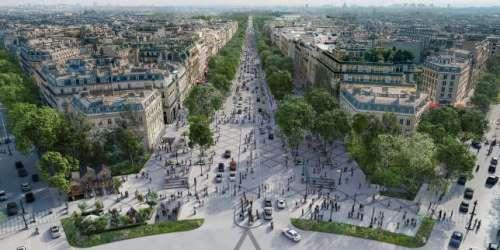Urbanisme: les Champs-Elysées, avenue en quête de Parisiens