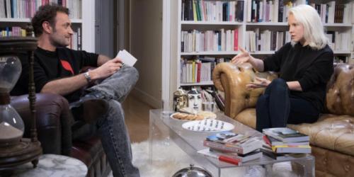 Dans l'émission littéraire «21cm», Augustin Trapenard reste dans la foulée de Cécile Coulon