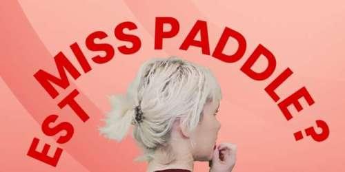«Qui est Miss Paddle?»: la journaliste et l'influenceuse