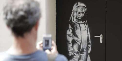 Volée au Bataclan il y a plus d'un an, une œuvre attribuée à Banksy retrouvée en Italie