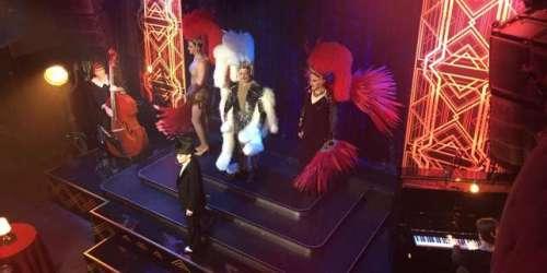 Danser avec la troupe de la Comédie-Française dans un cabaret, sur France 5