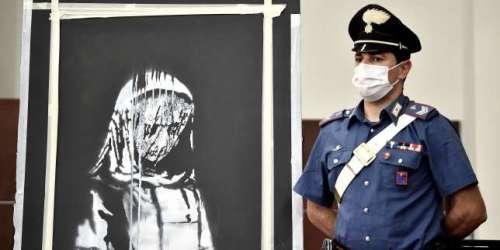 Six personnes, soupçonnées d'avoir volé une œuvre de Banksy au Bataclan, écrouées