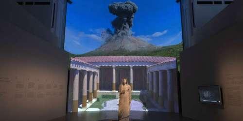 Au Grand Palais, une balade immersive dans les rues de Pompéi