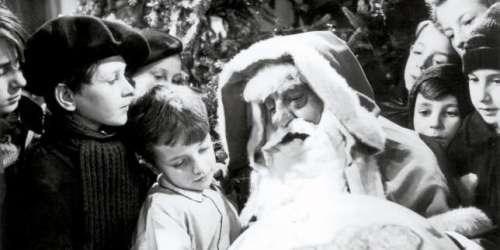 Amers Noëls et Pères Noël en sept films