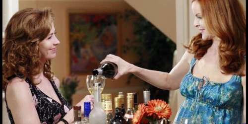 La loi des séries: ces héroïnes toujours un verre à la main