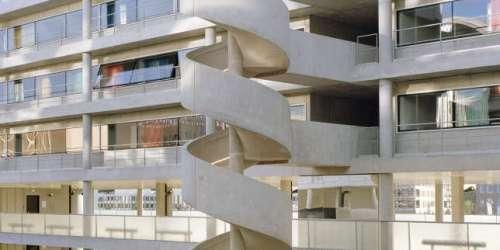 Architecture : une résidence universitaire sublimée par son parking