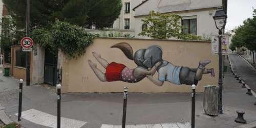 Dans les rues de Paris, le coronavirus inspire les street-artistes