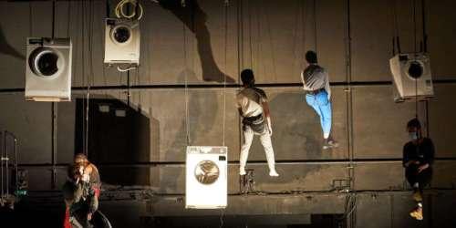 Equilibre, confiance, vertige: quand les arts de la piste s'invitent à l'école des acteurs