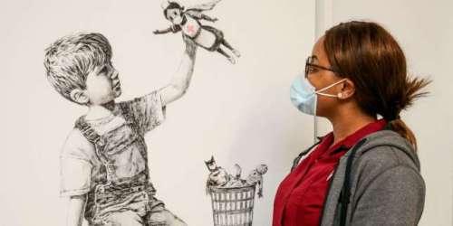 Un Banksy vendu plus de 19millions d'euros, une somme qui sera reversée au service de santé britannique