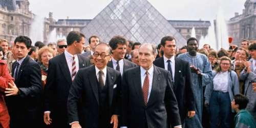 Pyramide du Louvre, Opéra Bastille...: les chantiers à marche forcée de François Mitterrand, président-bâtisseur