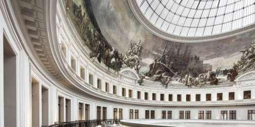 A la Bourse de commerce, une fresque murale très IIIe République