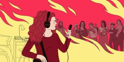 Charlotte Bienaimé (« Un podcast à soi », sur Arte radio): «La poésie permet de rendre audible l'indicible»