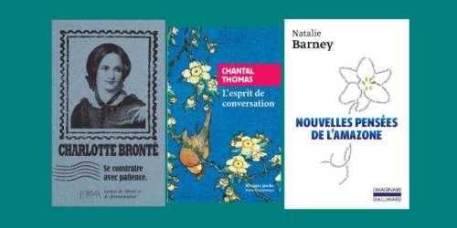 Charlotte Brontë, Chantal Thomas, Natalie Barney: la chronique «poches» de Véronique Ovaldé