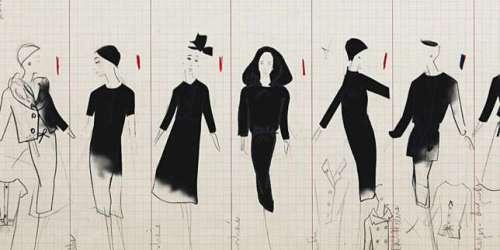 Sur Arte, les dessins de mode de Christian Dior reprennent vie