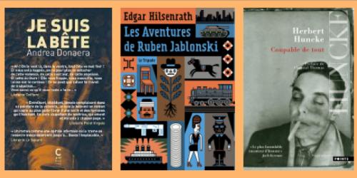 Andrea Donaera, Edgar Hilsenrath, Herbert Huncke, la chronique «poches» de Véronique Ovaldé.