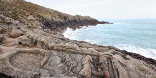 A Saint-Malo, les rochers de l'abbé Fouré perdent la face