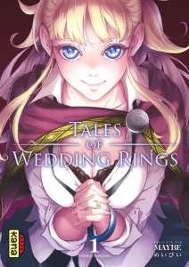 Le manga Tales of Wedding Rings approche de sa fin au Japon !