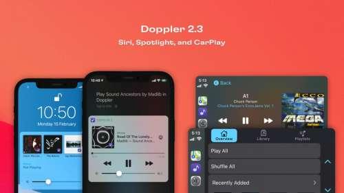 Doppler : la musique en FLAC débarque sur CarPlay