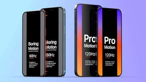 iPhone 13 : Samsung va être le fournisseur des écrans 120 Hz (màj)